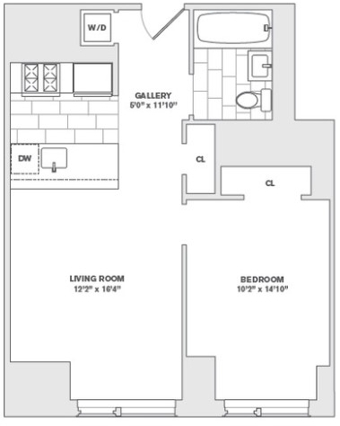 1 Bedroom, Financial District Rental in NYC for $3,789 - Photo 2