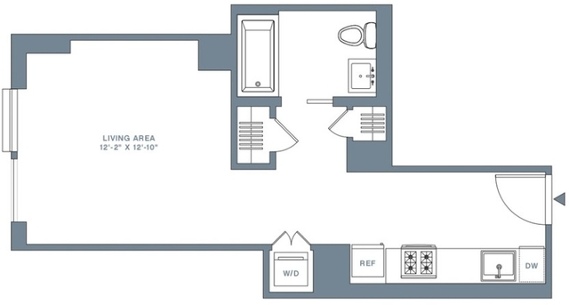 Studio, Financial District Rental in NYC for $3,247 - Photo 2