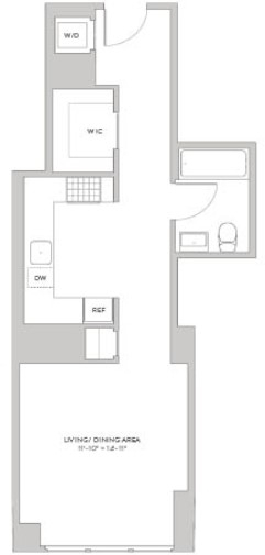 Studio, Long Island City Rental in NYC for $2,765 - Photo 2