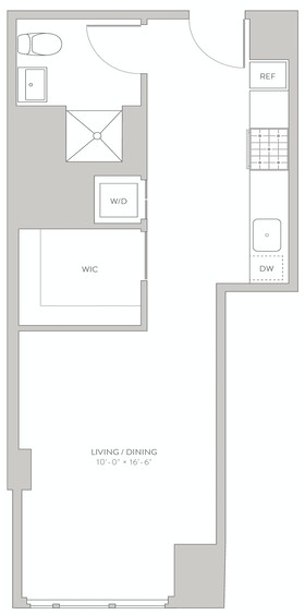Studio, Long Island City Rental in NYC for $2,864 - Photo 2