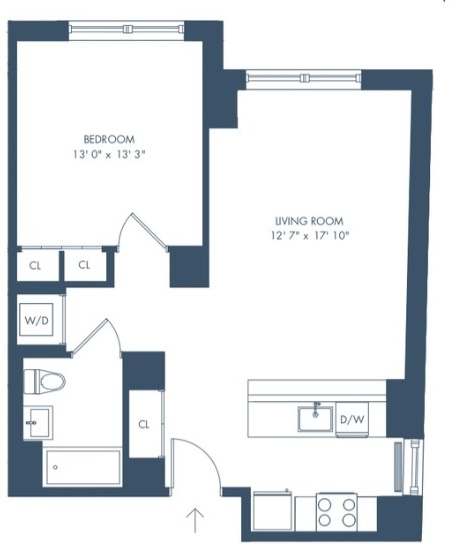 1 Bedroom, Long Island City Rental in NYC for $2,943 - Photo 2