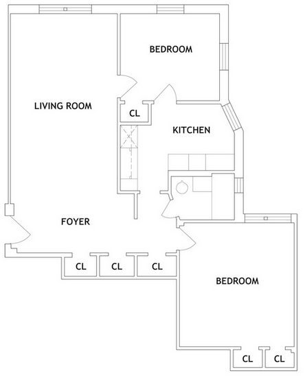 2 Bedrooms, Forest Hills Rental in NYC for $2,325 - Photo 2