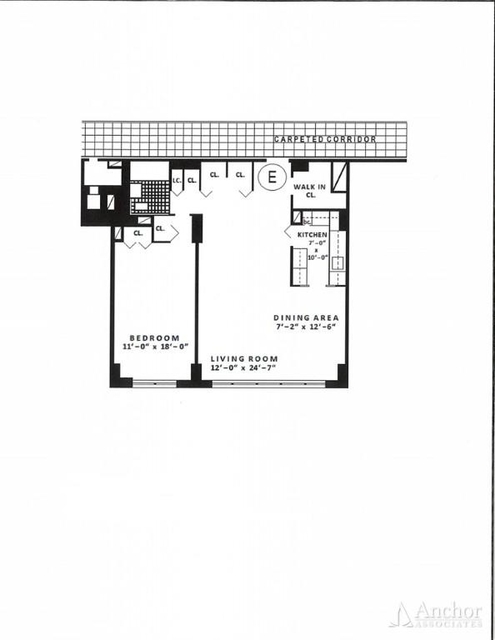 1 Bedroom, Rose Hill Rental in NYC for $4,215 - Photo 2
