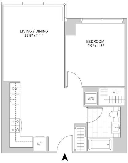 1 Bedroom, Murray Hill Rental in NYC for $6,189 - Photo 2