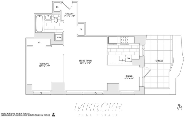 1 Bedroom, Financial District Rental in NYC for $6,640 - Photo 2