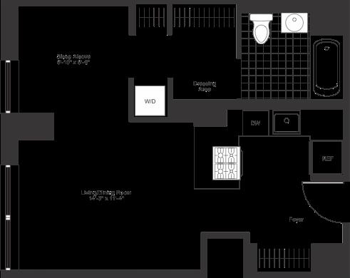 Studio, Chelsea Rental in NYC for $4,544 - Photo 2