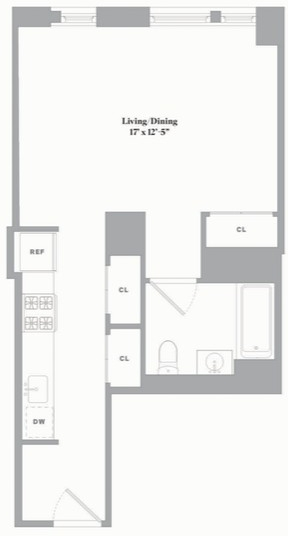 Studio, Fort Greene Rental in NYC for $3,260 - Photo 2