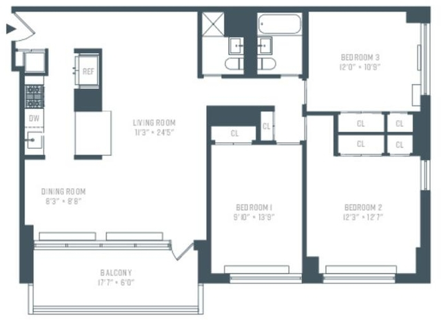 3 Bedrooms, Manhattan Valley Rental in NYC for $5,800 - Photo 1