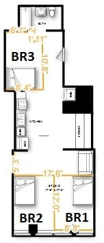 Room, Financial District Rental in NYC for $1,391 - Photo 2