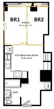 Room, Financial District Rental in NYC for $1,489 - Photo 1