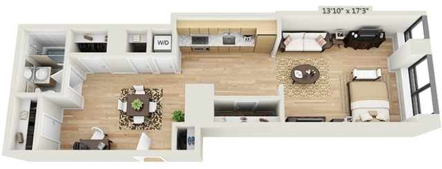 Studio, Financial District Rental in NYC for $3,861 - Photo 2