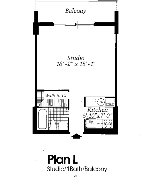 Studio, Astoria Rental in NYC for $2,250 - Photo 2