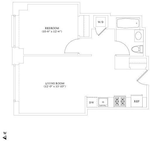 1 Bedroom, Hell's Kitchen Rental in NYC for $3,690 - Photo 2