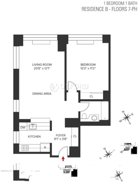 1 Bedroom, Turtle Bay Rental in NYC for $3,950 - Photo 2