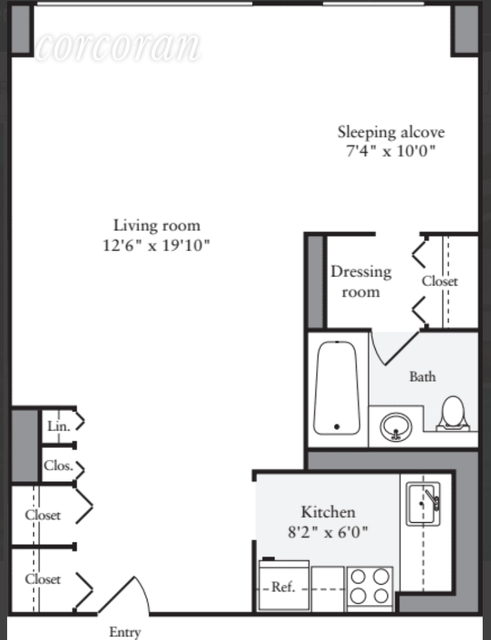 Studio, Murray Hill Rental in NYC for $3,299 - Photo 2