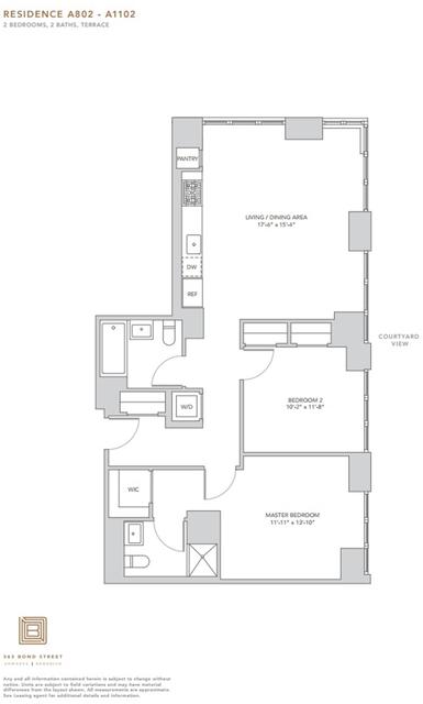 2 Bedrooms, Gowanus Rental in NYC for $5,900 - Photo 2