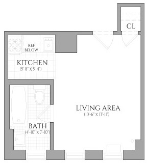 Studio, Lincoln Square Rental in NYC for $2,485 - Photo 2