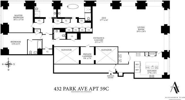2 Bedrooms, Midtown East Rental in NYC for $45,000 - Photo 2