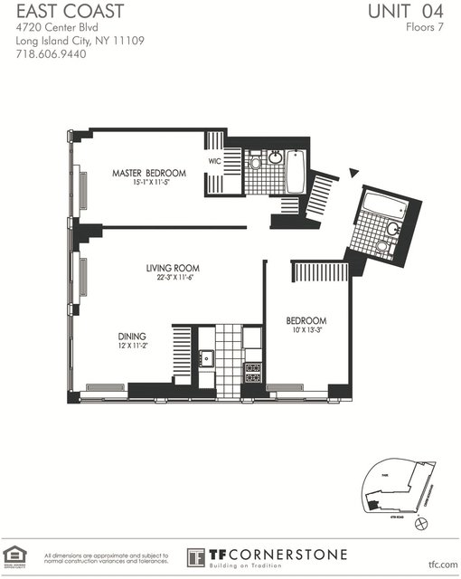 2 Bedrooms, Hunters Point Rental in NYC for $4,882 - Photo 1