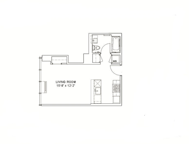 1 Bedroom, Hell's Kitchen Rental in NYC for $3,080 - Photo 2