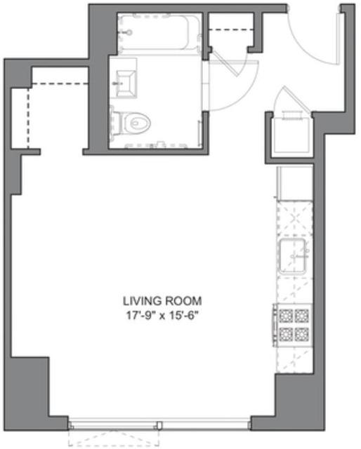 Studio, DUMBO Rental in NYC for $2,869 - Photo 2
