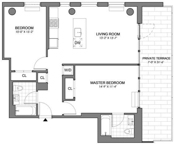 2 Bedrooms, Williamsburg Rental in NYC for $6,440 - Photo 2