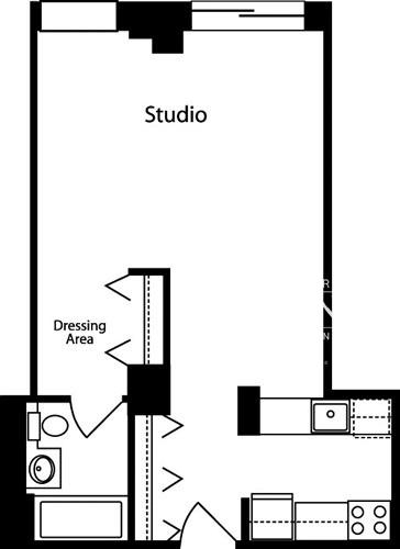 Studio, Hell's Kitchen Rental in NYC for $2,775 - Photo 2
