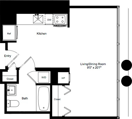 Studio, Lincoln Square Rental in NYC for $3,348 - Photo 2