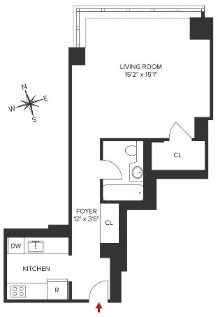 Studio, Turtle Bay Rental in NYC for $2,965 - Photo 2