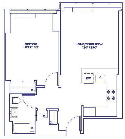1 Bedroom, Chelsea Rental in NYC for $3,470 - Photo 2