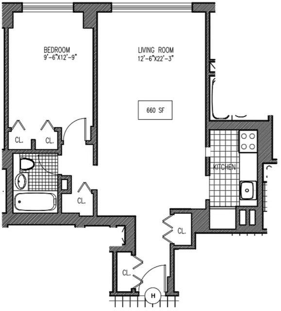 1 Bedroom, Turtle Bay Rental in NYC for $3,480 - Photo 2