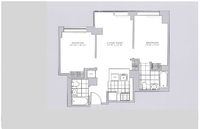 2 Bedrooms, Garment District Rental in NYC for $4,795 - Photo 2