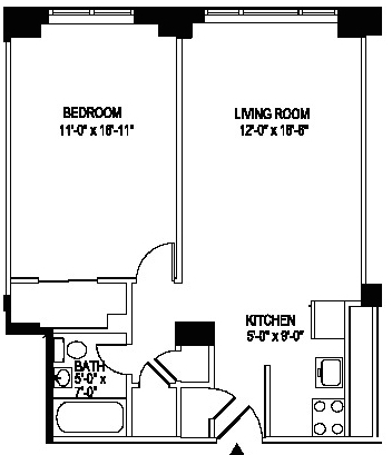 2 Bedrooms, Manhattan Valley Rental in NYC for $3,054 - Photo 2