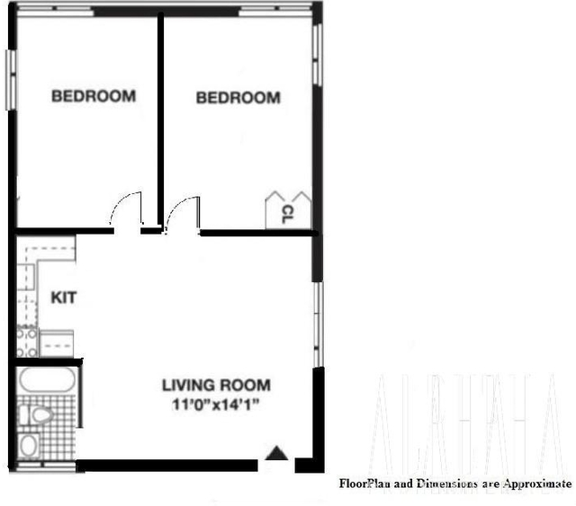 2 Bedrooms, Chinatown Rental in NYC for $2,997 - Photo 2