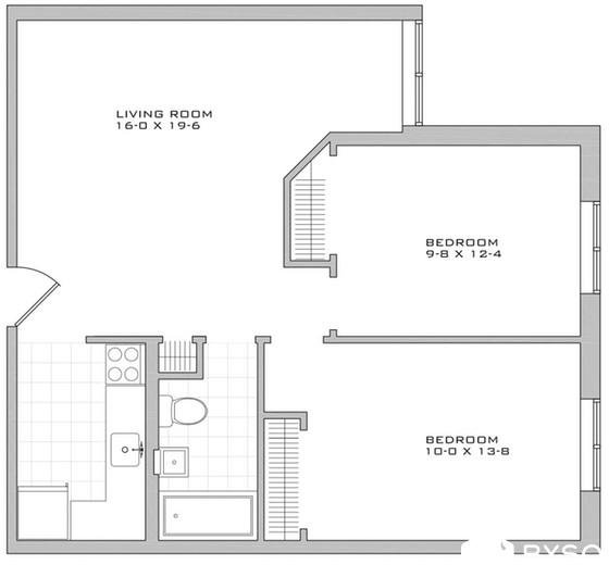 2 Bedrooms, Alphabet City Rental in NYC for $4,146 - Photo 2