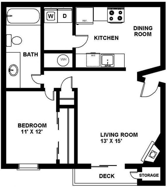 1 Bedroom, Loma Vista Rental in Kansas City, MO-KS for $673 - Photo 1