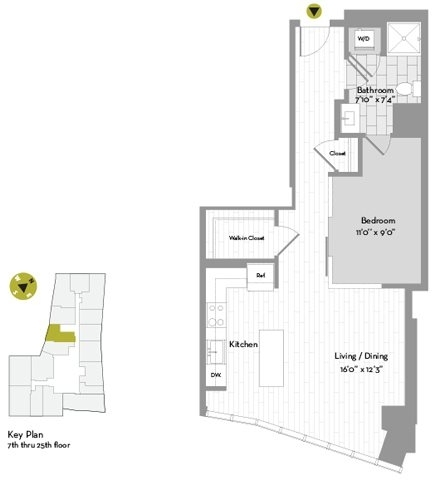 Studio, Chinatown - Leather District Rental in Boston, MA for $3,740 - Photo 2
