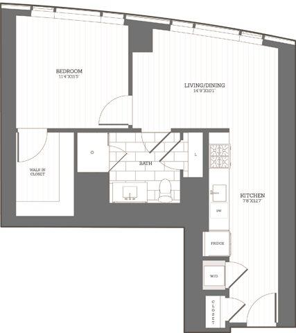 1 Bedroom, Fenway Rental in Boston, MA for $3,532 - Photo 2
