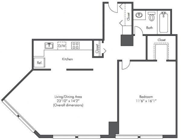 1 Bedroom, West Loop Rental in Chicago, IL for $1,857 - Photo 2