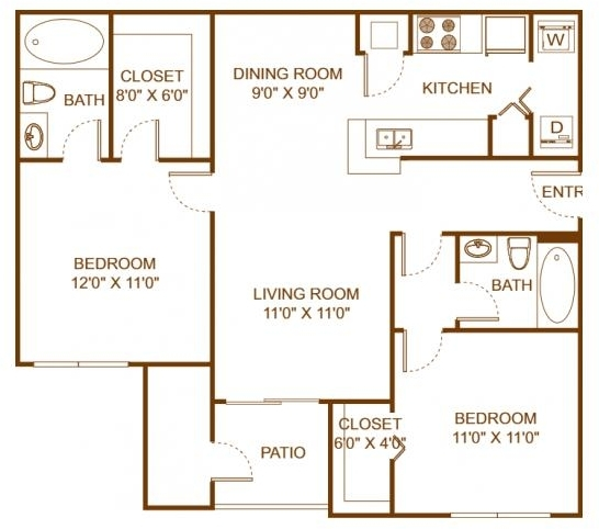 2 Bedrooms, Scarborough Rental in Miami, FL for $1,600 - Photo 2