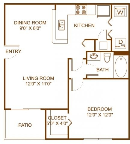 1 Bedroom, Scarborough Rental in Miami, FL for $1,475 - Photo 2