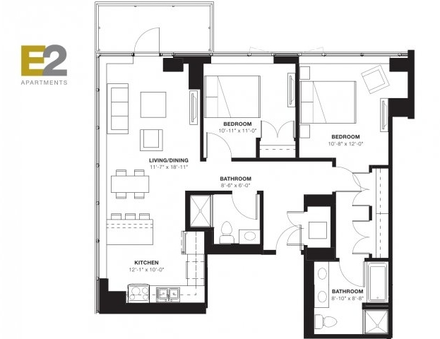 2 Bedrooms, Evanston Rental in Chicago, IL for $2,601 - Photo 2