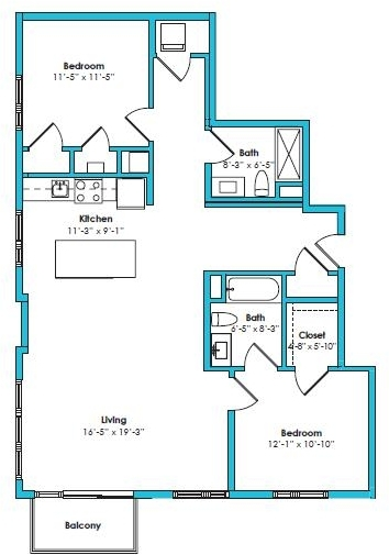 1 Bedroom, Crescent Beach Rental in Boston, MA for $1,971 - Photo 2