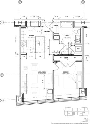 1 Bedroom, West Fens Rental in Washington, DC for $3,365 - Photo 2
