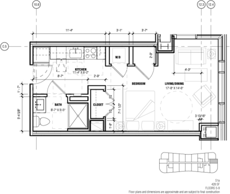 Studio, West Fens Rental in Boston, MA for $2,504 - Photo 2