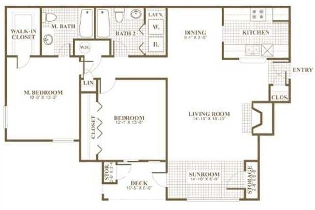 2 Bedrooms, Sandy Springs Rental in Atlanta, GA for $995 - Photo 2