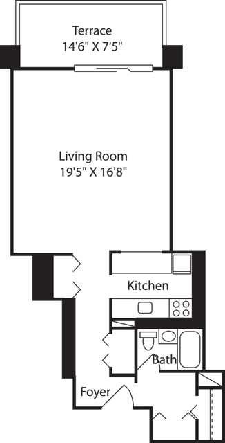 Studio, West End Rental in Boston, MA for $2,355 - Photo 2