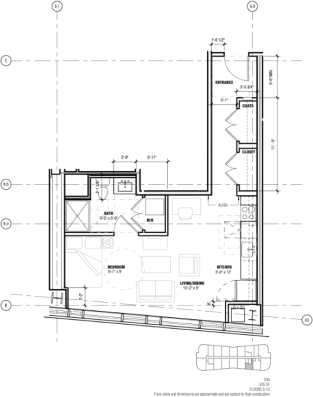 Studio, West Fens Rental in Washington, DC for $2,524 - Photo 2