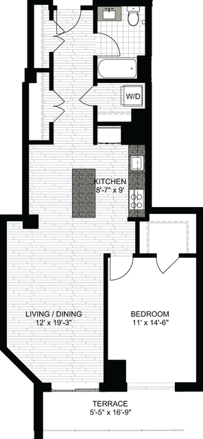 1 Bedroom, Downtown Boston Rental in Boston, MA for $3,188 - Photo 1
