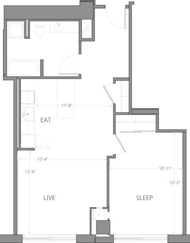 1BR at A St. - Photo 1